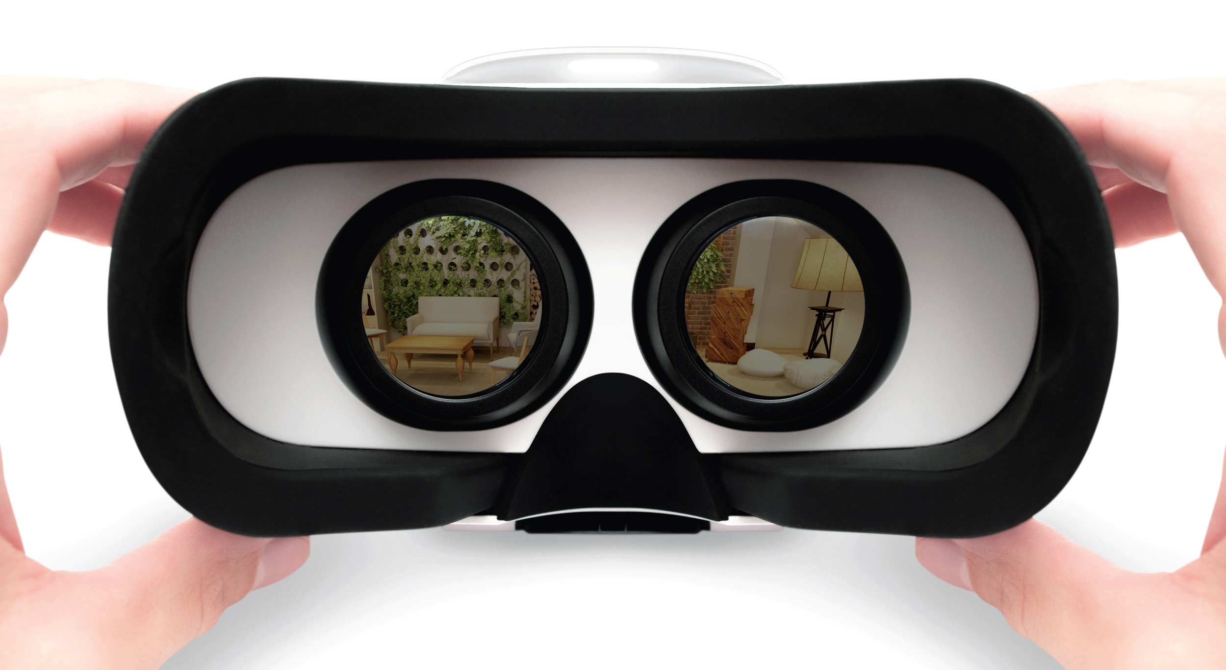 View VR designs with the iStaging app
